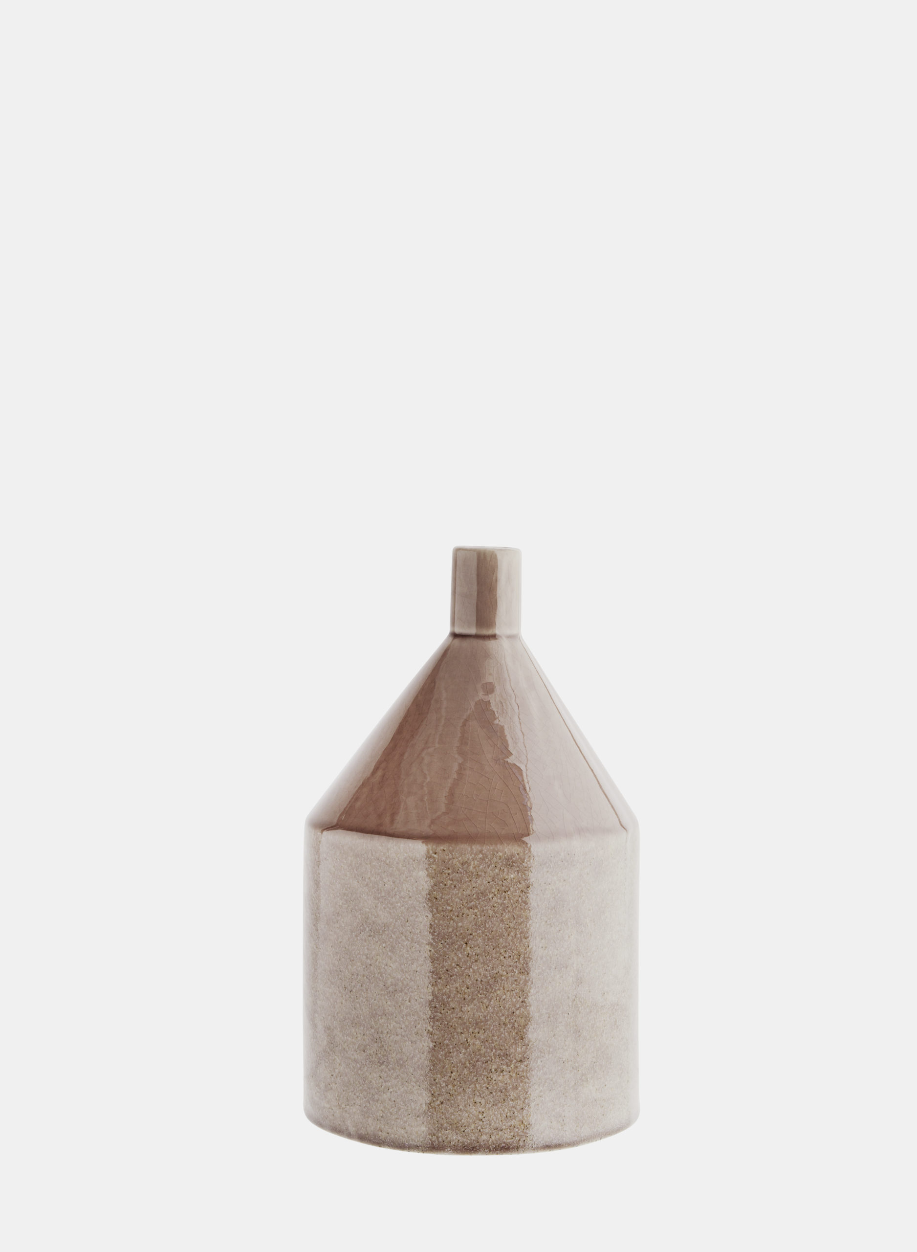 Grand vase en grès couleur terre * Madam Stoltz