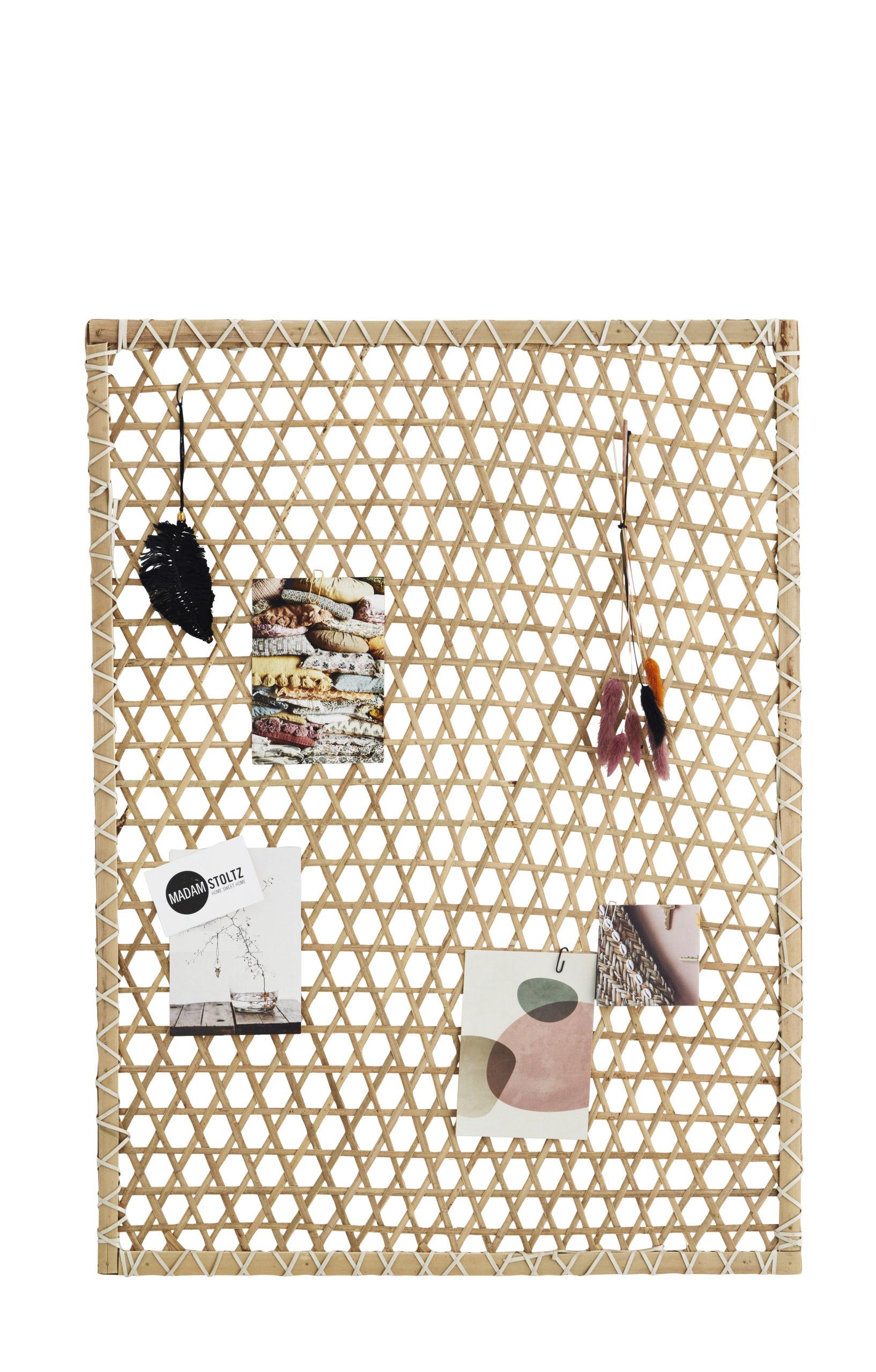 Tableau d'affichage en bambou * Madam Stoltz