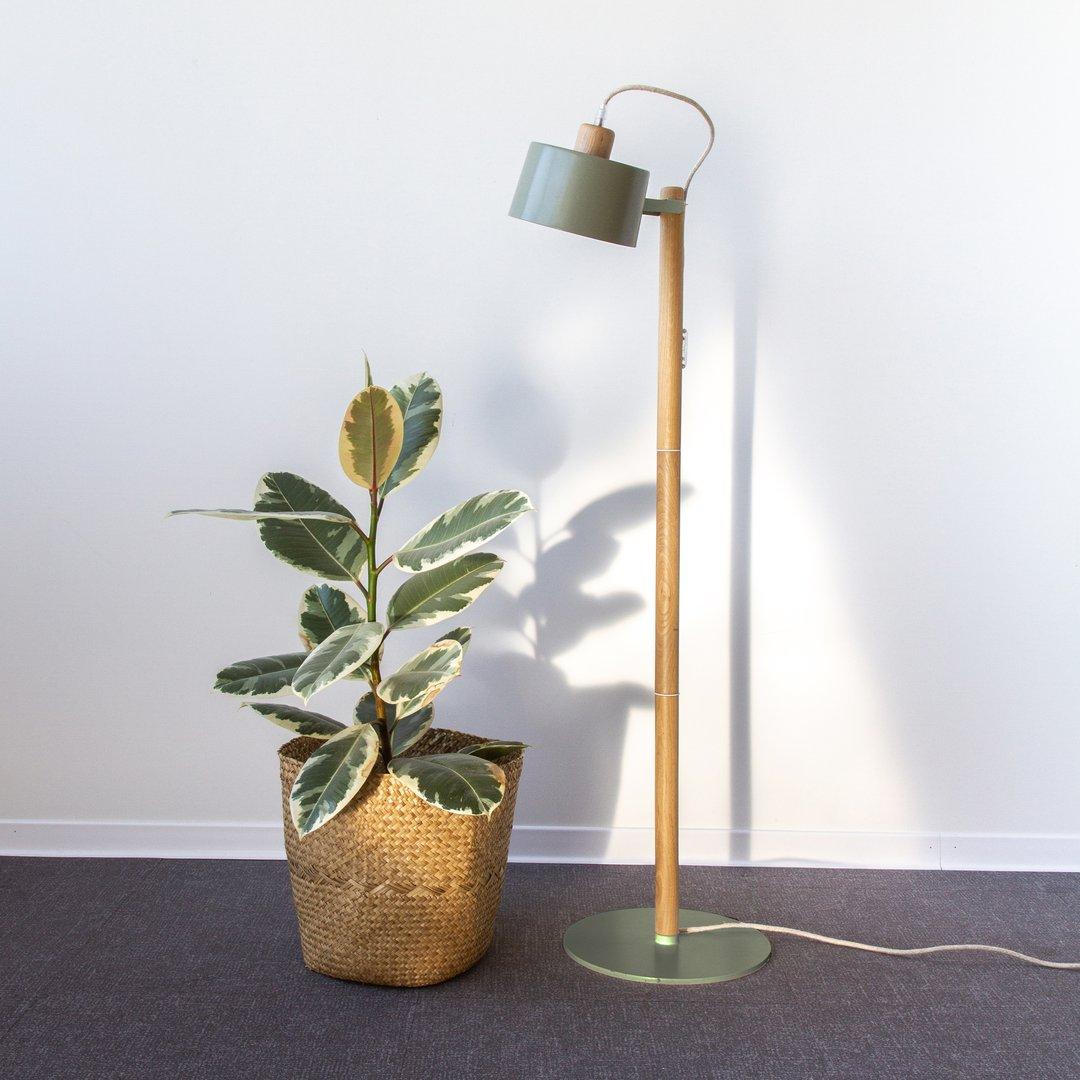 Lampadaire moyen Thelma- Plusieurs couleurs * Dizy Design