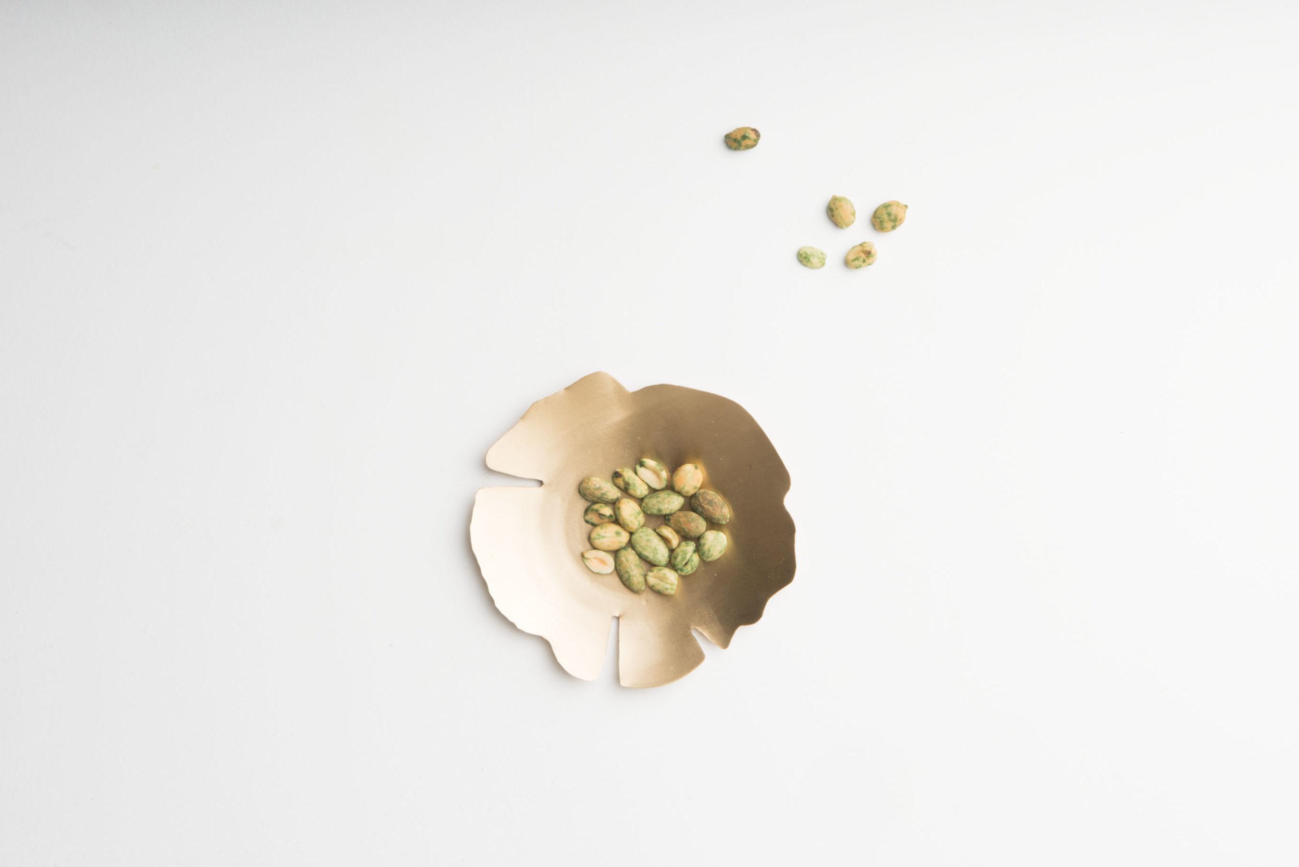 Coupelle dorée