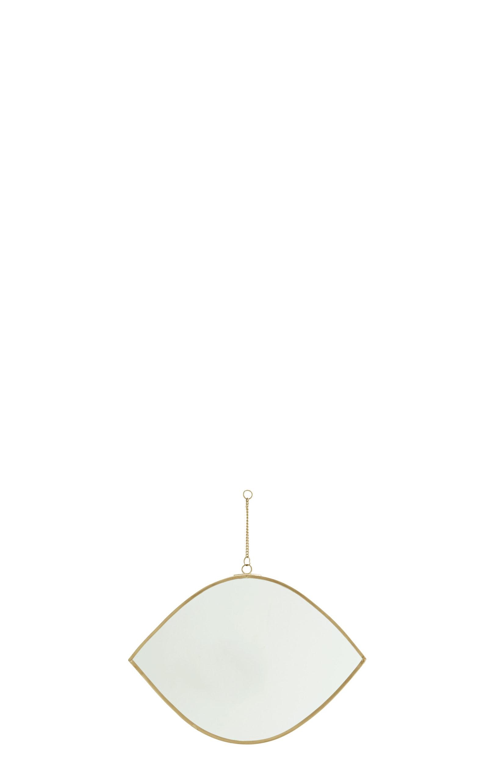 Miroir elliptique doré petit / grand * Madam Stoltz